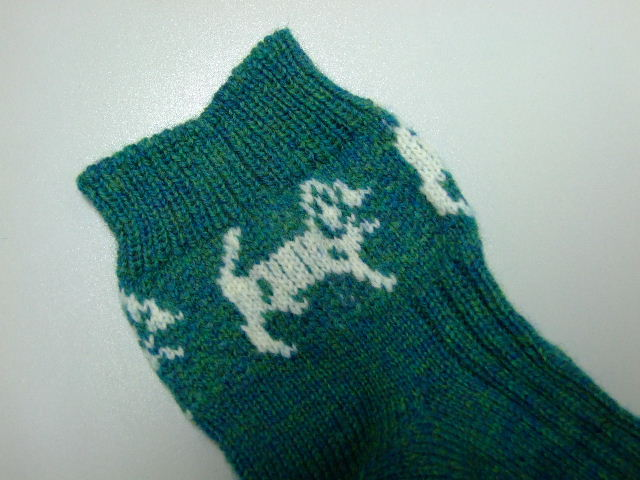 Dog Socks, Done!!! Creative Knitting - Beyond Knit and Purl