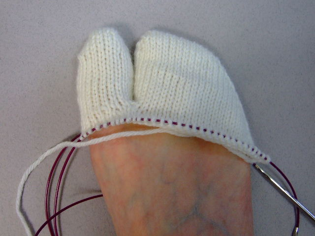 Toe Up Tabis For Men And Women Creative Knitting Beyond Knit