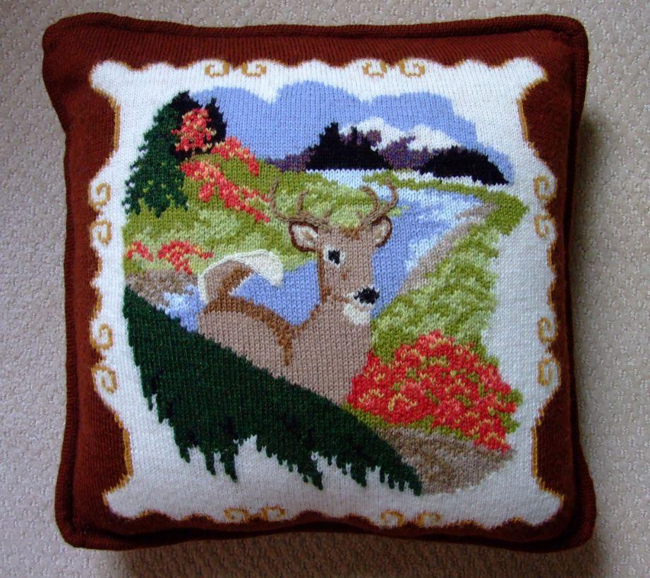 Js Free Designer Pillow Patterns Creative Knitting Beyond Knit