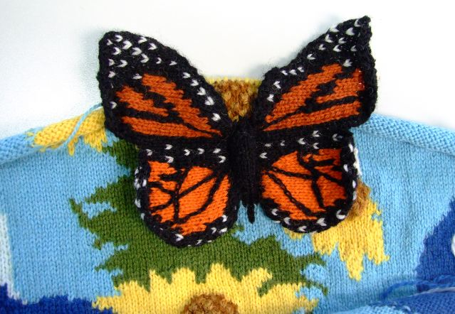 Knitting Pattern For Butterfly : knitting embellishments Creative Knitting - Beyond Knit and Purl