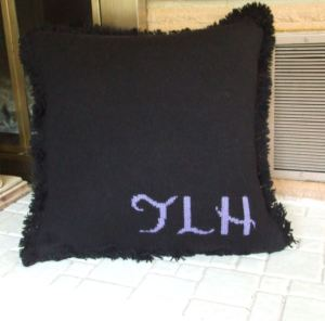 taylors pillow - back