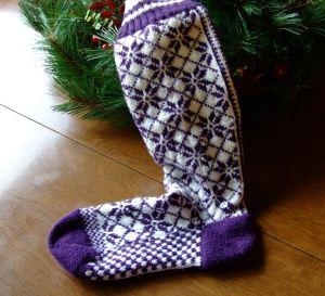 cozy toes nordic sock
