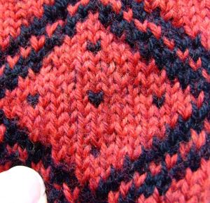 fair isle with short floats