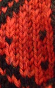 armenian knitting - stacked ridges