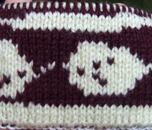 double knitting sample 1
