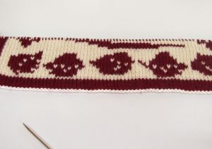 double knitting sample 3