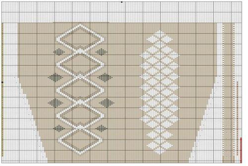 rattlesnake-sock-chart-upper-leg
