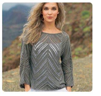 diamond lace tunic