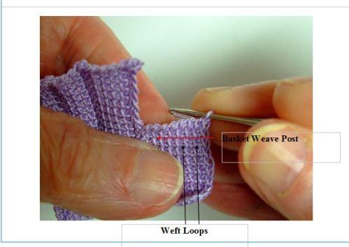 basket weave sample